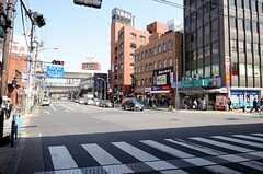 各駅・西日暮里駅周辺の様子。(2013-03-22,共用部,ENVIRONMENT,1F)