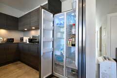 冷蔵庫の様子。(2018-10-29,共用部,KITCHEN,2F)