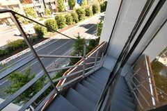 階段の様子。(2018-10-29,共用部,OTHER,4F)