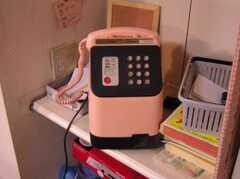 公衆電話が設置されている(ラウンジ・1F)(2005-06-06,共用部,OTHER,)