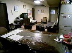ラウンジ(1F)の様子。(2005-06-06,共用部,LIVINGROOM,)