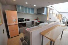 キッチンの様子。(2013-05-23,共用部,KITCHEN,4F)