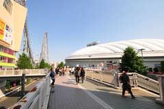 各線・後楽園駅前の様子。(2013-05-23,共用部,ENVIRONMENT,1F)