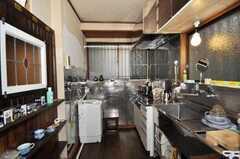 シェアハウスのキッチンの様子。(2009-11-12,共用部,KITCHEN,1F)