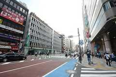 東京メトロ丸ノ内線・茗荷谷駅前の様子。(2015-09-28,共用部,ENVIRONMENT,1F)