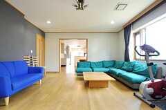 広い空間です。(2013-03-28,共用部,LIVINGROOM,1F)