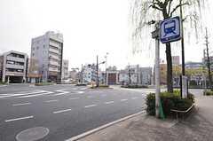 都営三田線・千石駅前の様子。(2013-03-28,共用部,ENVIRONMENT,1F)