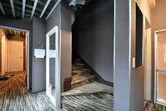 階段の様子。(2018-03-19,共用部,OTHER,2F)