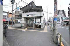 東京メトロ丸ノ内線・新大塚駅の様子。(2018-03-19,共用部,ENVIRONMENT,1F)