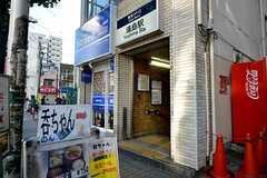 東京メトロ千代田線・湯島駅の様子。(2015-11-27,共用部,ENVIRONMENT,1F)