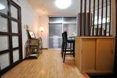 シェアハウスのラウンジの様子。(2010-03-16,共用部,LIVINGROOM,4F)