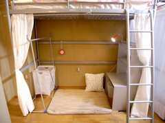 ドミトリーの様子3。(401号室)(2006-12-21,専有部,ROOM,4F)