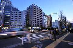 東京メトロ有楽町線・護国寺駅前の様子(2011-04-11,共用部,ENVIRONMENT,1F)