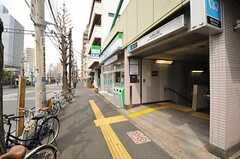 東京メトロ南北線・本駒込駅の様子。(2013-03-29,共用部,ENVIRONMENT,1F)
