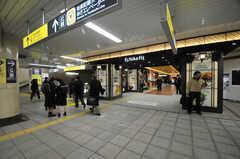 永田町駅の地下にあるEchika fitの様子。(2014-01-10,共用部,ENVIRONMENT,1F)