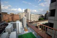 屋上の様子。(2008-09-08,共用部,OTHER,6F)