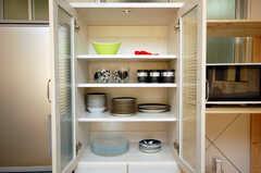 食器棚の様子。(2008-11-25,共用部,OTHER,4F)
