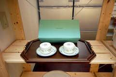 ティファニーのカップを発見。(2008-11-25,共用部,OTHER,4F)