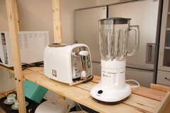 トースターとミキサーも用意されています。(2008-11-25,共用部,OTHER,4F)