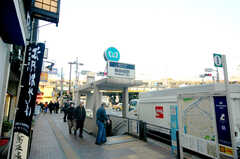 東京メトロ飯田橋駅の様子。(2008-11-25,共用部,ENVIRONMENT,1F)
