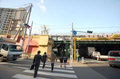 JR中央線飯田橋駅の様子。(2008-11-25,共用部,ENVIRONMENT,1F)