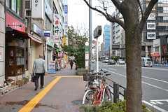 各線・飯田橋駅周辺の様子2。(2016-02-17,共用部,ENVIRONMENT,1F)
