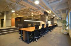 シェアオフィスの様子。利用には別途契約が必要です。(2015-02-06,共用部,OTHER,2F)