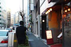 建物の1Fには喫茶店が入っています。(2015-02-06,共用部,ENVIRONMENT,1F)