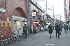 JR・神田駅の高架下の様子。(2015-02-06,共用部,ENVIRONMENT,1F)