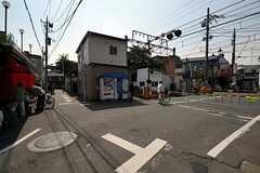 京王線・柴崎駅周辺の様子。(2011-05-18,共用部,ENVIRONMENT,1F)