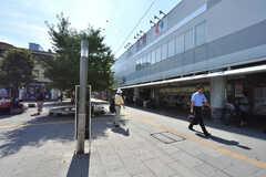 京王線・仙川駅の様子。(2016-08-05,共用部,ENVIRONMENT,1F)