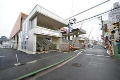 京王線・西調布駅の様子。(2016-01-12,共用部,ENVIRONMENT,1F)