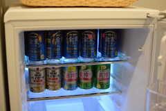 冷蔵庫にはビールが。(2017-10-17,共用部,KITCHEN,1F)