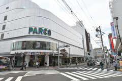 京王線・調布駅前にはPARCOがあります。(2017-10-17,共用部,ENVIRONMENT,1F)