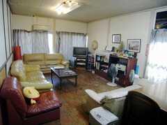 シェアハウスのラウンジ。(2008-02-07,共用部,LIVINGROOM,1F)