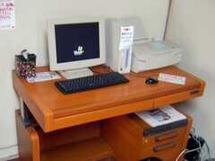 共用PCの様子。(2008-02-07,共用部,OTHER,1F)