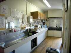 シェアハウスのキッチンの様子。(2008-02-07,共用部,KITCHEN,1F)