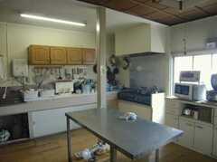 シェアハウスのキッチンの様子2。(2008-02-07,共用部,KITCHEN,1F)