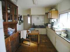 シェアハウスのキッチンの様子。(2008-02-07,共用部,KITCHEN,2F)