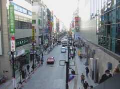 JR中央線三鷹駅前の様子。(2008-02-07,共用部,ENVIRONMENT,1F)