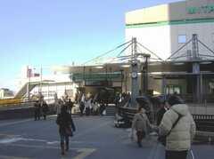JR中央線三鷹駅の様子。(2008-02-07,共用部,ENVIRONMENT,1F)