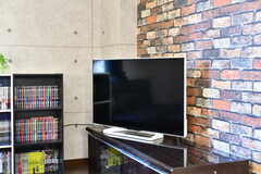 共用TVの様子。(2020-02-13,共用部,TV,2F)