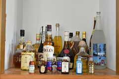 収納スペースにはお酒が並んでいます。(2020-02-13,共用部,OTHER,2F)