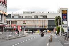 京王線・つつじヶ丘駅の様子。(2017-05-24,共用部,ENVIRONMENT,1F)