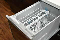 食洗機の様子。(2020-05-19,共用部,KITCHEN,2F)