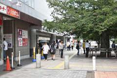 京王線・仙川駅の様子。(2018-07-13,共用部,ENVIRONMENT,1F)