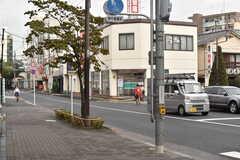 京王相模原線・京王多摩川駅周辺の様子。(2017-09-12,共用部,ENVIRONMENT,1F)
