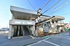 京王線・西調布駅の様子。(2017-01-05,共用部,ENVIRONMENT,1F)