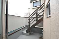 屋上へ上がる階段。(2014-11-11,共用部,OTHER,3F)