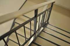階段の様子。(2014-01-14,共用部,OTHER,4F)